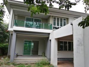 For SaleHouseBang kae, Phetkasem : House for sale, Habitia Line Phutthamonthon Sai 2 project, 107.4 sq.w., 3 bedrooms, 4 bathrooms, with built-in kitchen