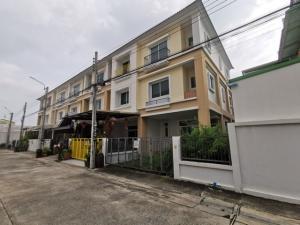 For SaleTownhouseRama3 (Riverside),Satupadit : Sale Townhome Grandity, Grandity, Sathupradit Soi 20, corner, 3 floors, near Central Rama 3.