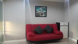 For RentCondoRama9, RCA, Petchaburi : Condo for rent Lumpini Place Rama 9-Ratchada, 37 sqm, near MRT Rama 9, 21st floor, fully furnished.