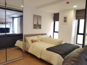 For RentCondoSathorn, Narathiwat : Condo for rent, Notting Hill, Charoenkrung 93, 1 bedroom, 8th floor, area 33.13 sq.m., fully furnished, opposite Asiatique.