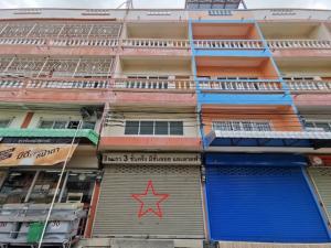 For SaleShophouseRama 2, Bang Khun Thian : 3.5-storey commercial building for sale, Soi Sakae Ngam 14, size 13.5 sq m. With mezzanine + east deck
