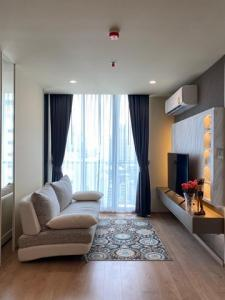For RentCondoSukhumvit, Asoke, Thonglor : Condo for sale / rent: Noble Recole Sukhumvit 19, 17th floor, near Terminal 21, BTS Asoke, Terminal 21 view.