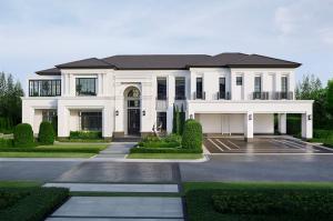 For RentHousePattanakan, Srinakarin : Rent Baan Sansiri Pattanakarn, big house, the last big land in the project