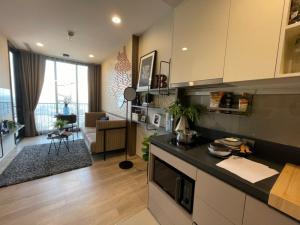 For SaleCondoSukhumvit, Asoke, Thonglor : Special price, 1 bedroom, 35 sqm., High floor, view of Bang Krachao River, OKA Haus Sukhumvit 36 Tel. 062-339-3663