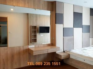 For RentCondoRama3 (Riverside),Satupadit : FOR RENT !!! 1 Bed high floor Built-in furniture, elegant, modern, there are many rooms to choose from, Supalai Prima Riva Riverfront condo