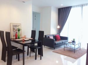 For RentCondoSathorn, Narathiwat : Condo for rent Nara 9 2 bedrooms, near BTS Chong Nonsi