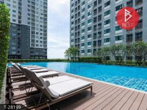 For SaleCondoSamrong, Samut Prakan : Condo for sale Aspire Erawan (Aspire Erawan), located next to BTS Erawan station.