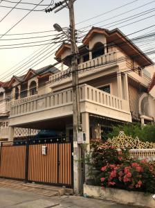 ขายโฮมออฟฟิศพัฒนาการ ศรีนครินทร์ : H332-ขายบ้านเดี่ยว 3 ชั้น โฮมออฟฟิศพัฒนาการ 29  สร้างเต็มพื้นที่ พร้อมเข้าอยู่