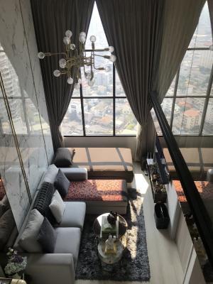 For SaleCondoSathorn, Narathiwat : Urgent sale !! Duplex room, beautiful view in the heart of Sathorn Night Bridge Prime Sathorn