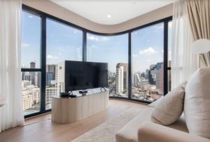 ขายคอนโดสยาม จุฬา สามย่าน : ‼ ขาย โครงการ Ashton Chula-Silom 2 ห้องนอน 1 ห้องน้ำ พร้อมเฟอร์นิเจอร์ ห้องขนาด 55 ตร.ม.