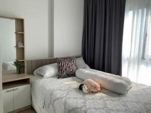 For RentCondoSukhumvit, Asoke, Thonglor : Condo for rent, The Tree Sukhumvit 71 - Ekamai, 27th floor, very beautiful view, room size 30.51 sqm.