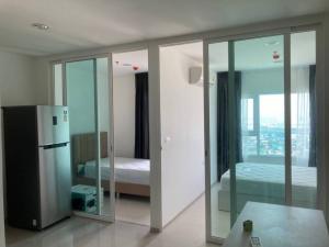 For RentCondoSamrong, Samut Prakan : APE040164: Condo for rent, Aspire Erawan 🛌1 large bedroom + 1 small room, ready to move in 🎊✅.