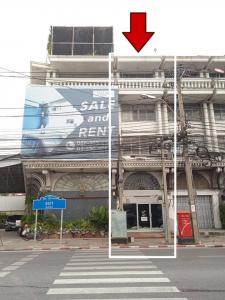 For RentShophouseRama3 (Riverside),Satupadit : 4.5 storey commercial building for rent Next to Nang Linchi Road Suitable for creating a cafe, cafe, hostel, office, gallery or clinic.