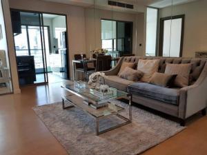 For RentCondoSathorn, Narathiwat : AE64053 Condo for rent, very new room, The Room Charoenkrung 30, near BTS Taksin Phath, 55 sqm, 15th floor, luxury decoration.