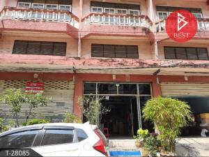 For SaleShophouseMahachai Samut Sakhon : Commercial building for sale, 2 booths, Phutthamonthon Sai 5, Krathum Baen, Samut Sakhon.