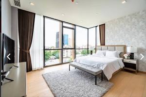 For RentCondoSukhumvit, Asoke, Thonglor : Rental: Luxury Condo Monument Thonglor, 2 Bed 3 Bath, 125 sqm 🔥🔥Rental Price: 120,000 THB / Month 🔥🔥