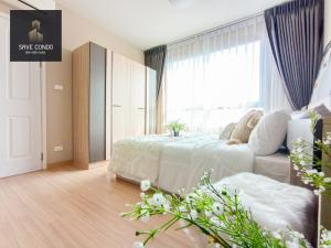 For SaleCondoNawamin, Ramindra : For sale !! Plum Nawamin Condo, beautiful room, 7th floor, open view, good wind, quiet, suitable for resting free of charge !!