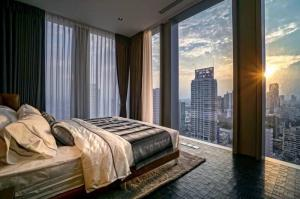 เช่าคอนโดสาทร นราธิวาส : ForRent 2Bedroom High Floor - The Ritz Carlton Residence Mahanakorn