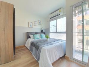 ขายคอนโดลาดพร้าว101 แฮปปี้แลนด์ : ขาย บ้านบดินทร์ Exclusive Condominium ขนาด 29 ตารางเมตร อาคาร A ชั้น 3 ห้องตกแต่งพร้อมอยู่ ราคา 1,290,000 บาท