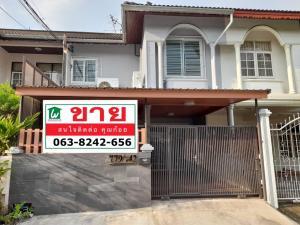 For SaleTownhouseRatchadapisek, Huaikwang, Suttisan : 2 storey townhome for sale at Charoen 779 Ratchada 18 28 square wah 4 bedrooms 2 bathrooms