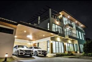 For RentHouseRamkhamhaeng, Hua Mak : Fully furnished 3 storey House for rent at Perfect Masterpiece Rama 9