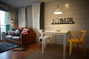 For RentCondoRama9, RCA, Petchaburi : LPN park Rama9 (rca) room for rent, fully furnished