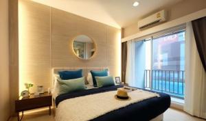 Sale DownCondoSamrong, Samut Prakan : For sale, book 2 bedrooms, Building B, contact 097-001-3073, corner room, area 46. sq.m.
