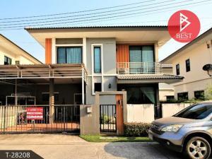 For SaleHousePattaya, Bangsaen, Chonburi : House for sale Casa Ville Ban Bueng (Casa Ville BanBueng), Chonburi, new condition, ready to move in.