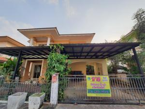 For SaleHouseChiang Mai : 2 storey detached house for sale The Oriental Regent, near Promenada, 3 min. 3 min., The cheapest price, 4.29 MB, fully furnished, ready to move in, Saraphi, Chiang Mai.