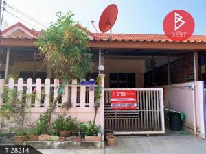 For SaleTownhouseSamut Songkhram : Urgent sale, townhouse, area 38.0 square meters, Samut Songkhram, 6 kilometers away from Mae Klong market.