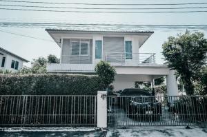 For SaleHouseLadkrabang, Suwannaphum Airport : 2 storey detached house for sale, Chollada, Suvarnabhumi, Lat Krabang