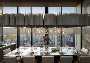 ขายคอนโดสุขุมวิท อโศก ทองหล่อ : 🔥HOTTEST DEAL🔥 THE ESSE SKV36 1BR SPECIAL 12.95MB!!! 📲Tel/Line: K.Bo 094-1624424