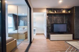 For SaleCondoRatchadapisek, Huaikwang, Suttisan : SC634 Condo for sale Hi Suthisan, ready room, near MRT Sutthisan