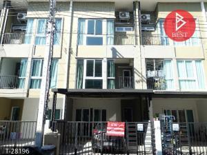 For SaleTownhouseSamrong, Samut Prakan : Townhouse for sale with tenants Bless Town Srinakarin-Namdaeng Village, Samut Prakan