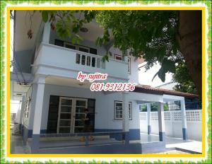 For RentHouseChengwatana, Muangthong : 2 storey house for rent, 100 sq m. Near Big C, Soi Chaengwattana 14