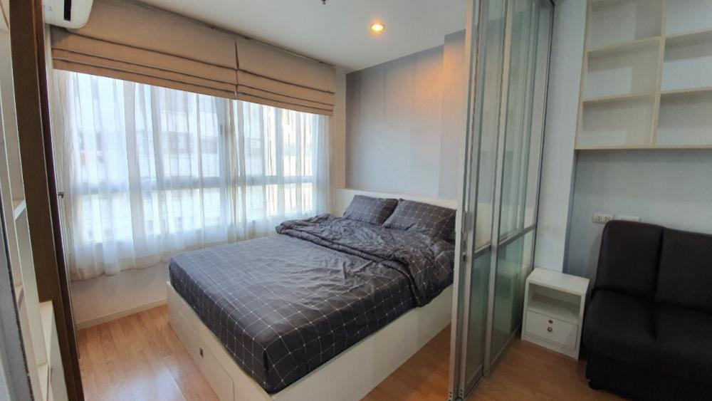 For RentCondoSeri Thai, Ramkhamhaeng Nida : Condo for rent, Lumpini Ville Ramkhamhaeng 60/2, Building C, 4th floor, furniture + electrical appliances