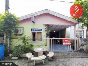 For SaleHouseRamkhamhaeng,Min Buri, Romklao : Single storey house for sale. Nantawan Village 5, Liab Waree 11 (Nantawan5), Bangkok
