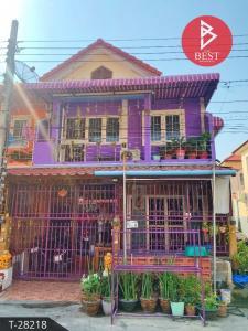 For SaleTownhouseSamrong, Samut Prakan : Townhouse for sale Fueng Fah Villa 15, Soi Mangkonpraksa, Samut Prakan