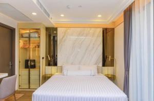 เช่าคอนโดสยาม จุฬา สามย่าน : For Rent Ashton Chula-Silom ตกแต่งเฟอร์และเครื่องใช้ไฟฟ้าครบ @JST Property.