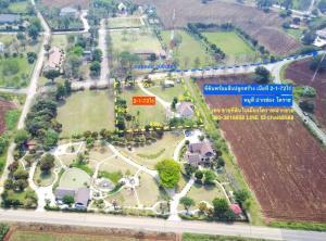 For SaleLandKorat KhaoYai Pak Chong : Land for sale with a house, Mu Si, Pak Chong, Korat, area 2-1-72 rai.