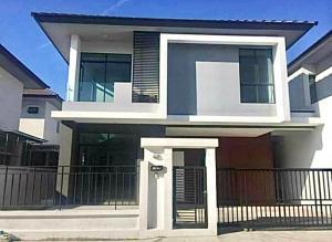 เช่าบ้านเสรีไทย-นิด้า : ให้เช่า บ้านเดี่ยว  พร้อมเฟอร์ ซอยรามคำแหง94 หมู่บ้านออร่า
