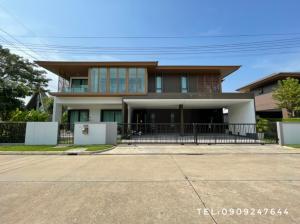 ขายบ้านพัฒนาการ ศรีนครินทร์ : ขายด่วน บ้านเดี่ยว บุราสิริ พัฒนาการ Burasiri Pattanakarn หลังมุมติดกับสวน