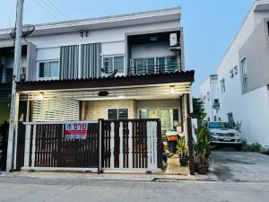 ขายบ้านอยุธยา สุพรรณบุรี : ขายทาวเฮ้าส์ 2ชั้น ดีคิวบ์หลังริม ติดโรงเกลือนวนคร ถนนพหลโยธิน ใกล้นิคมนวนคร บางปะอิน