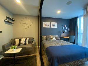 For RentCondoRatchadapisek, Huaikwang, Suttisan : [Rented] Condo Atmoz Ratchada - Huay Kwang 1 BEDROOM 24.45 sq m, room in Building A, 3rd floor, city view