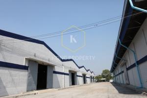 For RentWarehouseRathburana, Suksawat : Rent Kokdang / Warehouse next to the pier Available in many sizes, Phra Pradaeng, Samut Prakan
