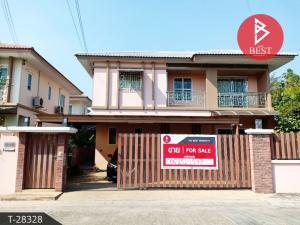For SaleHouseMahachai Samut Sakhon : House for sale I Leaf Park Rama 2 km 14