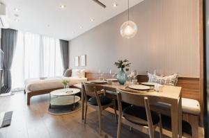 เช่าคอนโดสุขุมวิท อโศก ทองหล่อ : ⚡Park 24 For rent ห้องใหม่ แต่งครบ ชั้นสูง 22,000 ต่อเดือน