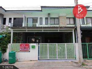 For SaleTownhouseSamrong, Samut Prakan : 2 storey townhouse for sale, Thanda Park View 2 project Praksa - Thepharak Samut Prakan, clean, ready.