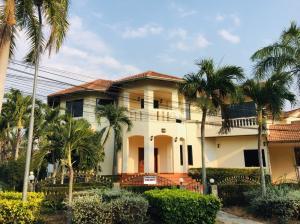 For RentHousePattaya, Bangsaen, Chonburi : 🔴🔴 House, Pool Villa, Village Project Clean village Peace of mind 🔴🔴