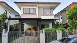 เช่าบ้านลาดกระบัง สุวรรณภูมิ : ให้เช่าบ้านแฝด2 ชั้น เอโทลจาวาเบย์ ถนนกิ่งแก้ว-ลาดกระบัง ซอยกิ่งแก้ว19( Atoll Java Bay)